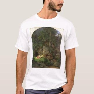 T-shirt Genoveva dans la clairière en bois, 1839-41