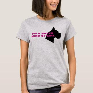 T-shirt Genre de boxeur de fille