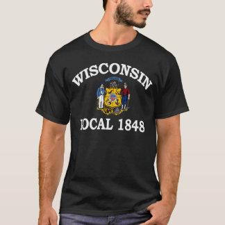 T-shirt Gens du pays 1848 du Wisconsin