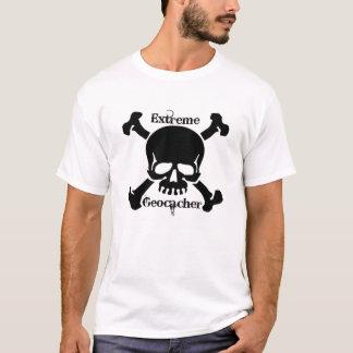 T-shirt Geocacher extrême