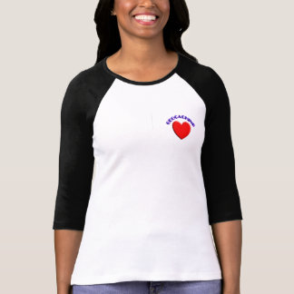 T-shirt Geocaching d'amour (coeur)