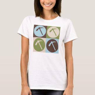 T-shirt Géologie d'art de bruit