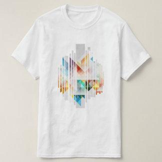 T-shirt Géométrique abstrait