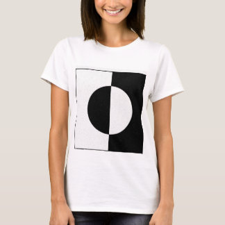 T-shirt Géométrique Black Withe