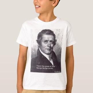 T-shirt George De Benneville Ocean des cadeaux de citation