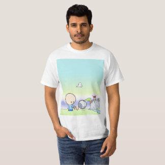 T-shirt George marchant son chien de droid