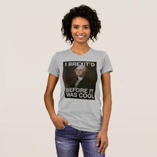T-shirt George Washington Brexit'd avant qu'il ait fait
