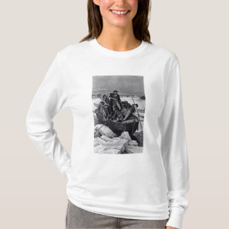 T-shirt George Washington croisant le fleuve Delaware