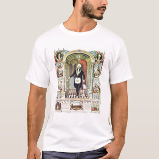 T-shirt George Washington en tant que franc-maçon