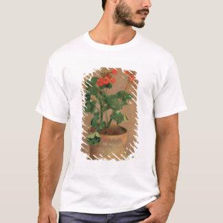 T-shirt Géraniums dans un pot, c.1905 (huile sur la toile)
