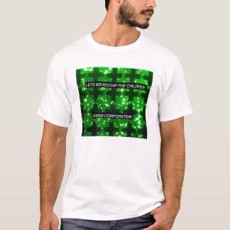 T-shirt Germ Corporation - puce