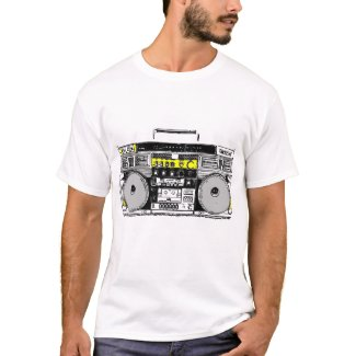 T-SHIRT GHETTO BLASTER