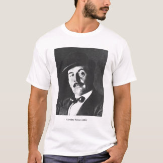 T-shirt Giacomo Puccini (1858-1924) 1924 (photolitho) (b/w