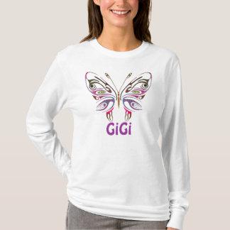 T-shirt GiGi a personnalisé le papillon