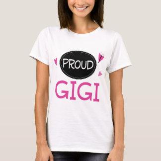 T-shirt Gigi fier
