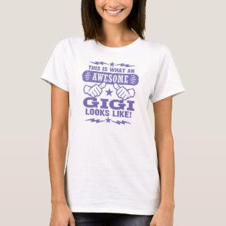 T-shirt Gigi impressionnant