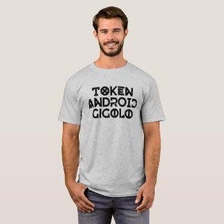 T-shirt Gigolo androïde symbolique - texte foncé