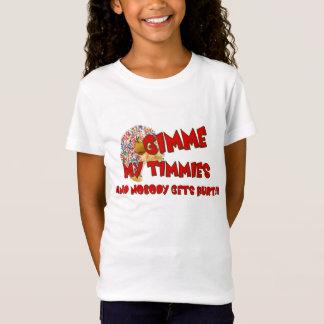 T-Shirt Gimme mon Timmies et personne obtient le mal ! ! !