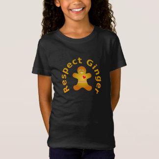 T-Shirt Gingembre de respect qui ne respecterait pas le