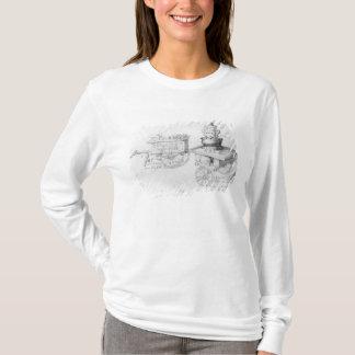 T-shirt Gingerbeer et vin chaud d'aîné cale dedans