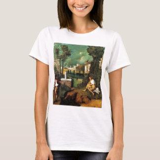 T-shirt Giorgione la tempête