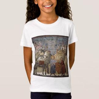 T-Shirt Giotto : St Francis donnant son manteau à un