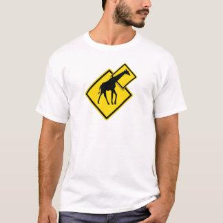 T-shirt Girafe de danger