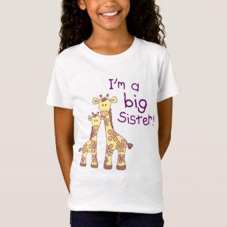 T-Shirt Girafe de grande soeur
