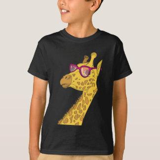 T-shirt girafe de hippie