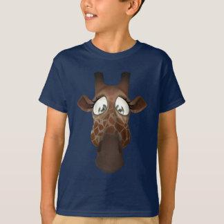 T-shirt Girafe lunatique mignonne