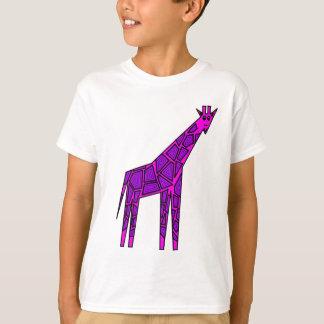 T-shirt Girafe rose