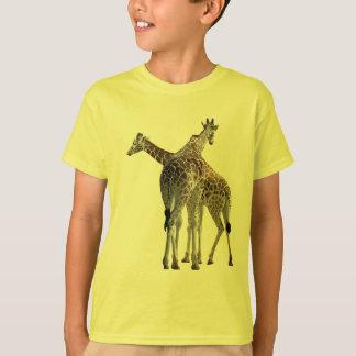 T-shirt Girafes