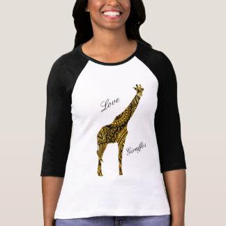 T-shirt Girafes d'amour