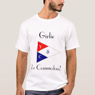 T-shirt Girlie pour le commodore