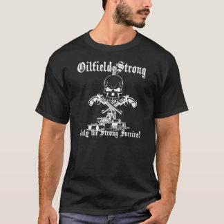 T-shirt Gisement de pétrole fort avec des pistolets
