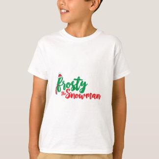 T-shirt Givré l'homme de neige
