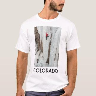 T-shirt Glace d'escalade d'homme, le Colorado