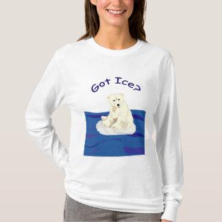 T-shirt Glace obtenue