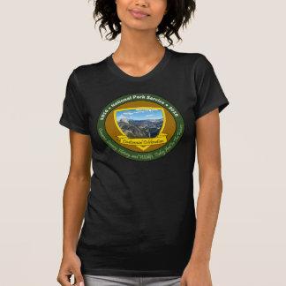 T-shirt Glacier centennal pinte de Yosemite de chemise de