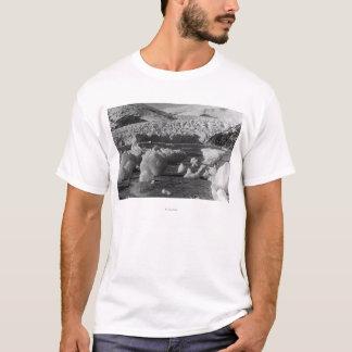 T-shirt Glacier de Taku photographie près de Juneau,