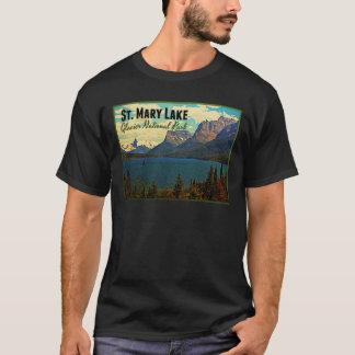 T-shirt Glacier NP de lac st. Mary