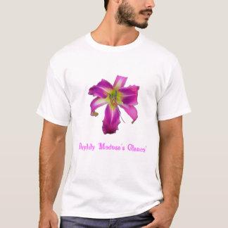 T-shirt Glance de la méduse de Daylily '