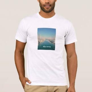 T-shirt Glissez loin