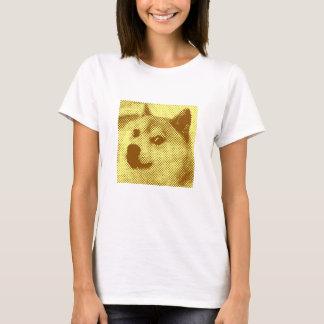 T-shirt Glitched, conception tramée d'art de bruit