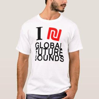 T-shirt global de Futuresounds du ₪ I