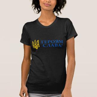 T-shirt Gloire vers l'Ukraine ! Gloire à ses héros !