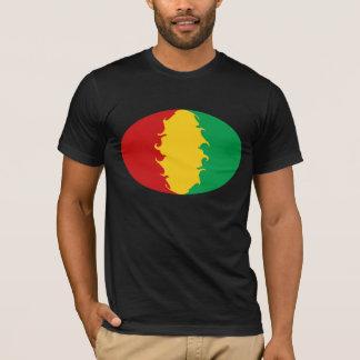 T-shirt Gnarly de drapeau de Conakry de Guinée