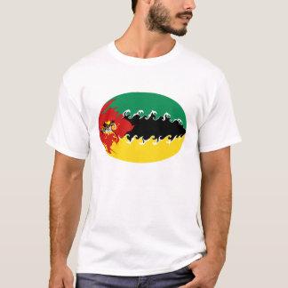 T-shirt Gnarly de drapeau de la Mozambique