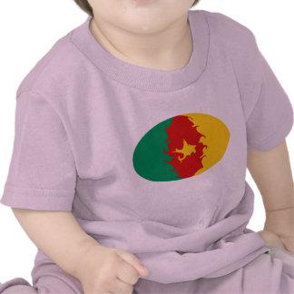 T-shirt Gnarly de drapeau du Cameroun