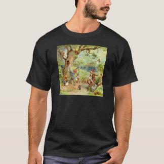 T-shirt Gnomes, elfes et fées dans la forêt magique